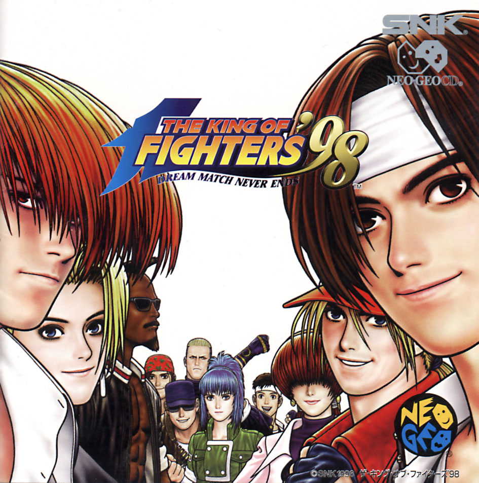 gotta track down so here we have King of Fighters 98 on Neo Geo CD