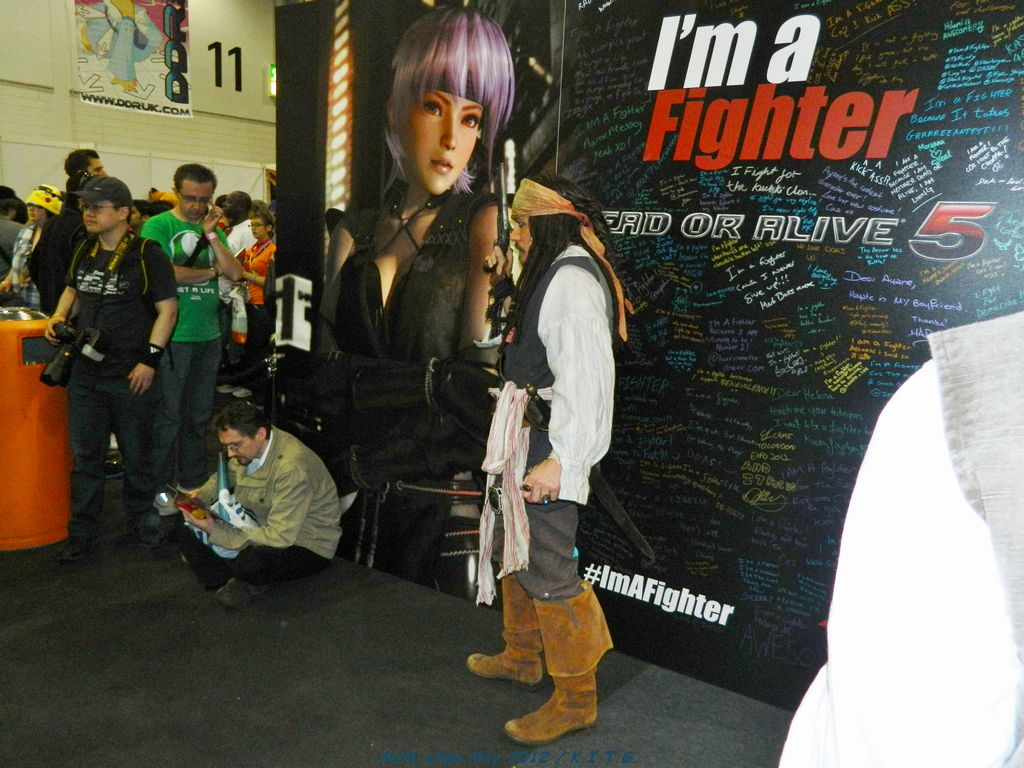 Captain Jack Sparrow wants to play DOA5