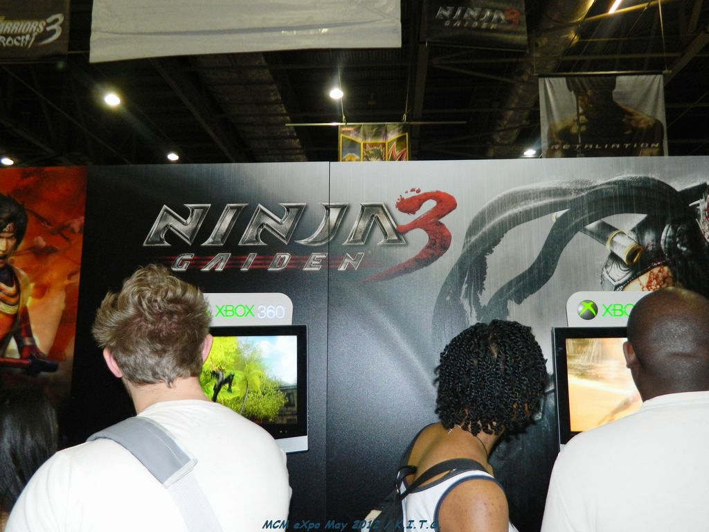 Gamers get to grips with Ninja Gaiden