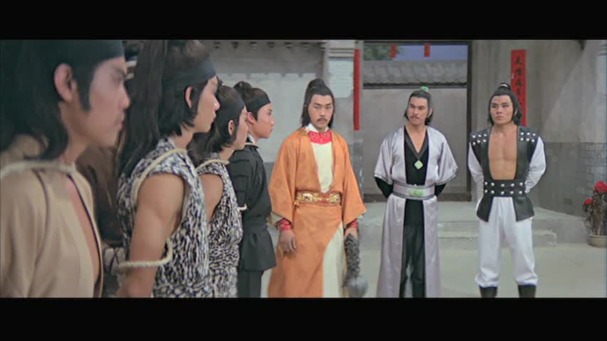 Chen Kuan Tai -second from the right