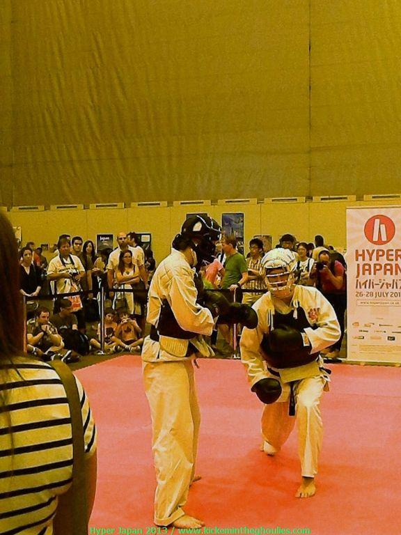 Martial arts stage