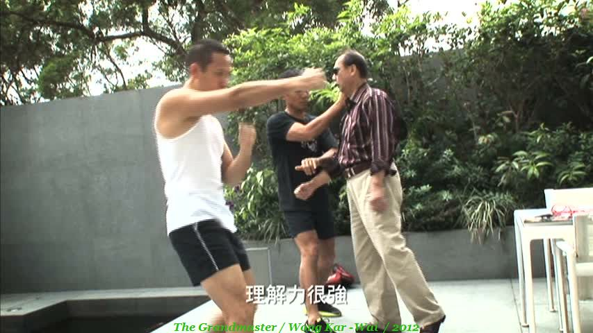 Hard graft for Tony Leunf Chiu Wai